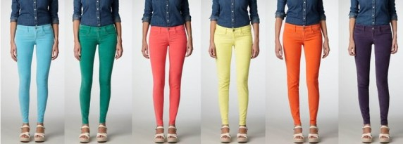 jegging de couleurs